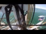 This Is How You Climb To The Top Of A Tall Ship