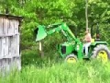 Tractor Barn And Friend Demolition