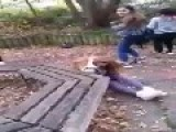 Teenage Girl Gets Beaten By 2 Other Girls Tübingen , Germany