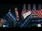 Trump Rally In Warwick, Rhode Island