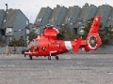 Take Off MH-65 Dolphin U.S.C.G New Jersey