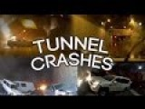 Tunnel Crash Compilation - New! 20 Minutes