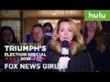 The Insult Comic Dog Sends Fake Fox News Girls To Trump Rally
