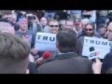 Trump Supporters Confronted By Canadian Lyin Ted On Live TV