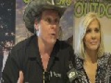 Ted Nugent & Wife Talking SHOT - 2014