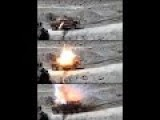 Taliban Score A Direct Rocket Hit On Afghan National Army Vehicle From Close Distance