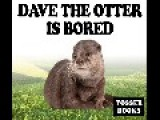 TOSSER BOOKS - Dave The Otter Is Bored