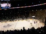 Teen Scores Full Rink Goal At ACC Half Time Game