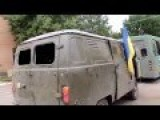 The Battalion 'Aydar' Returned From Battle. Lugansk