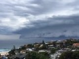 Timelapse Video Shows Shelf Cloud Loom Over Sydney