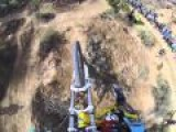 The Man With The Balls Of Steel, Insane Downhill Biking