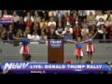 Trump Jugend Sing & Dance For Their Fuhrer