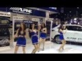 Toyota Girls Weird Dance