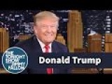 Trump On The Tonight Show With Jimmy Fallon
