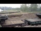Tank And BMD Movements By Train Near Podpesochnoe Lake Luhansk