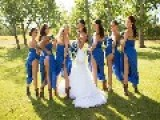 This Wacky Wedding Trend Has Bridesmaids Showing Some Skin