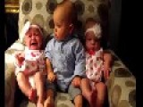 Toddler Is Adorably Confused When Meeting Baby Twins