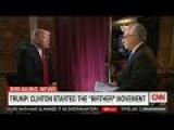 Trump Blames Hillary For Birtherism, Wolf Blitzer Summarily Fact-Checks Him