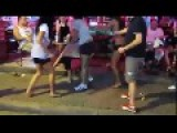 Thai Girls Shows Tourist Who Is Boss