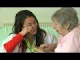 Team GB Gold Medallist Is Reunited With Her Nana