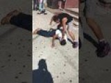 Two CRACKHEADS From The Bronx NY Get Into A Fight