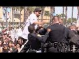 Trump Protesters Attack The San Diego Police At Trump Rally