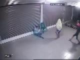 Thai Thug Kicks Snoozing Man In The Face
