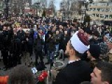 Thousands Protest In Serbia Against Muhammad Cartoons