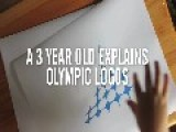 The Olympic Games Logos As Interpreted By A Three-Year-Old