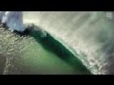 The Beauty Of A Barrel An Experimental Drone Surf Shot
