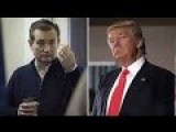 Trump Destroys Cruz In Election Then Lying Ted Gives A Speech Like He Won The Election