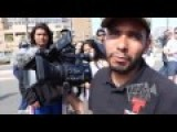 Telemundo Cameraman Staging Shot At Anti-Trump Protest