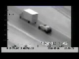 Thieves Attempt A Daring Highway Robbery On Moving Truck Romania
