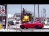 Train Stops To Avoid Collision