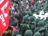 TERROR IN GERMANY-Blockupy Frankfurt