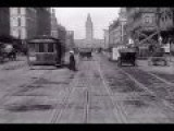 Take A Trip Down Market St. San Francisco In 1906