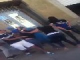 Two Algerian Teen Girl Fight In Street