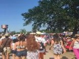 Time-Lapse Shows Crowds At New Orleans Jazz Festival