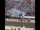 Truck Pull Blows Engine