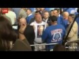 Tim NEW! Better Angle - Kaine Interrupted By A Protester Yelling Bill Clinton Is A Rapist