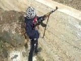 That's Wild: Syrian Kid Happy As Hell Firing An Ak-47