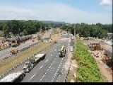 Time Lapse Of Freeway Bridge Replacement