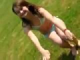 Teen In Small Bikini