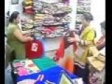Two Women Stealing In A Mall Caught In CCTV