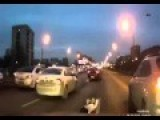 This Russian Girl Decides To Take A Nap In The Middle Of The Road