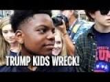 Trump Kids Vs BLM