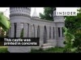 This Giant 3D-Printer Prints Actual Concrete Castles An 3373 D Houses