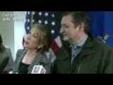 Ted Cruz HIDES Behind Carly Fiorina's Skirt On INFIDELITY Question