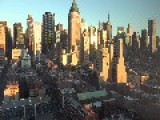 Timelapse Captures Beauty Of New York City Sunset
