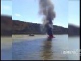 Three People Burnt After Ski Boat Bursts Into Flames